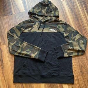 Aeropostale XL hoodie camouflage Sweatshirt Guy